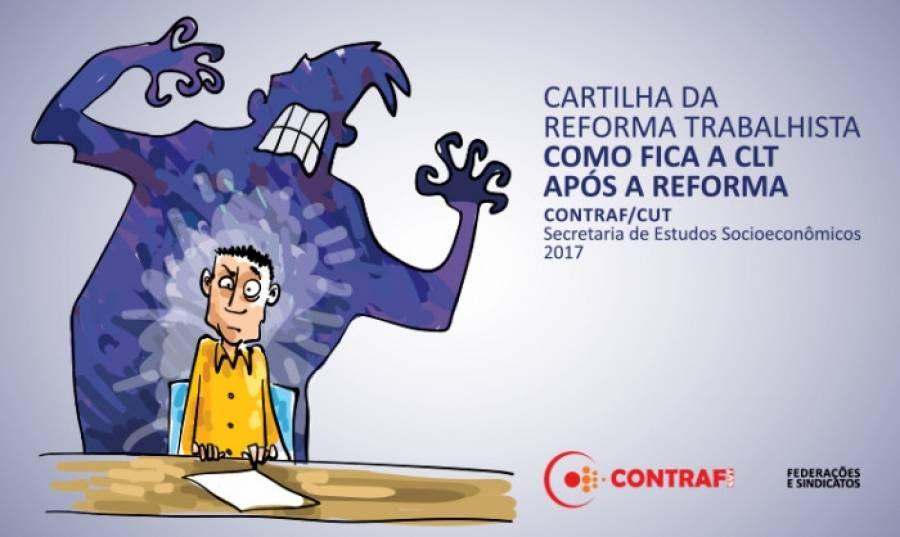 Contraf-CUT disponibiliza Cartilha da Reforma Trabalhista
