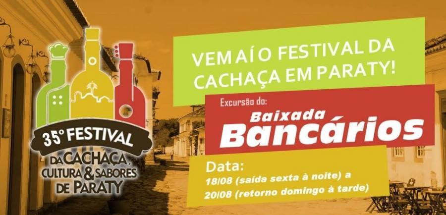 Saiba tudo sobre a excursão para o Festival da Cachaça em Paraty em agosto