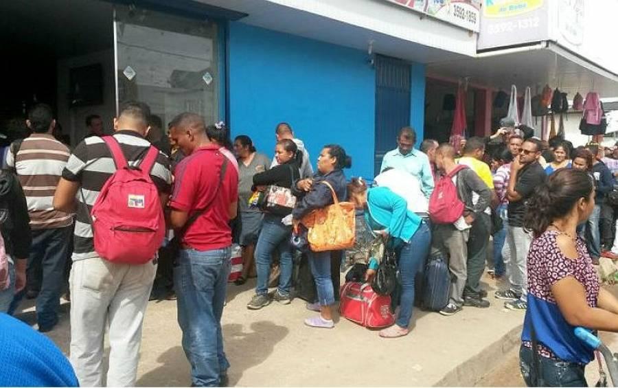 Em nota, CUT repudia chamar venezuelanos no Brasil de 'refugiados'