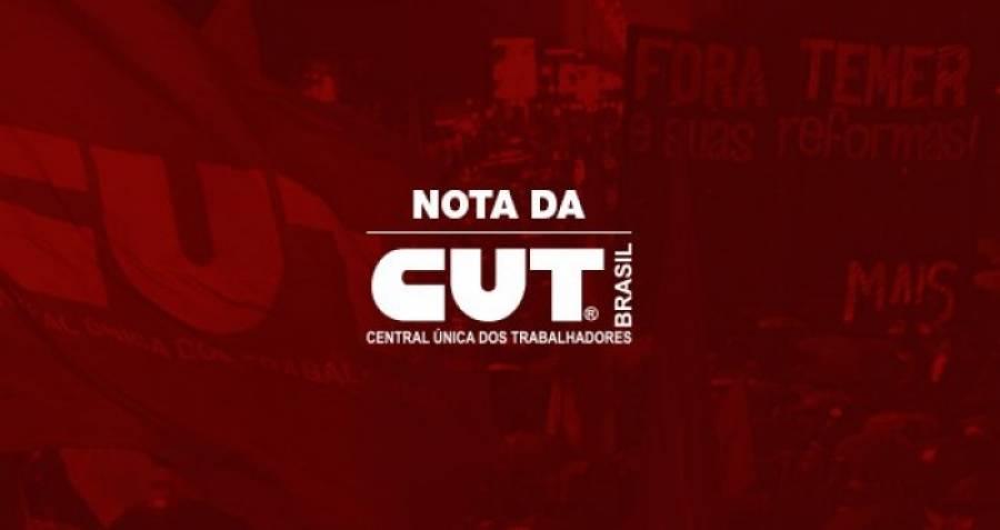 CUT repudia má-fé da Folha de S. Paulo