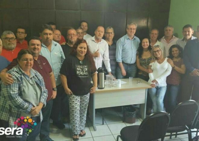 Dep. Federal Celso Pansera se reúne com diretores do SindBaixada
