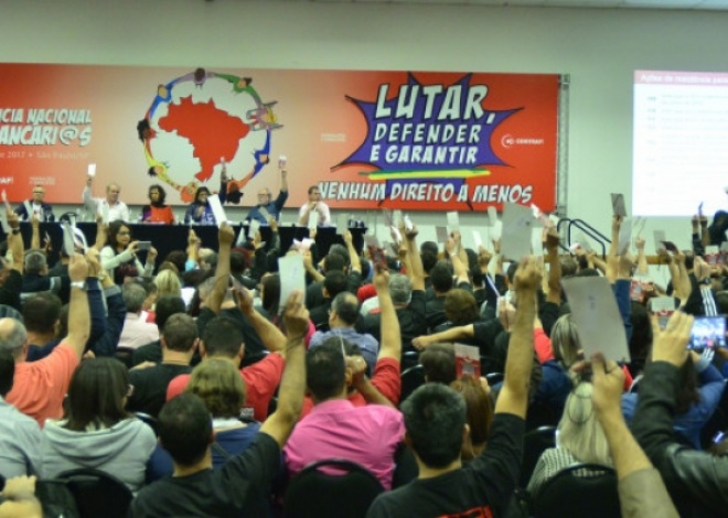 Sindicato dos Bancários da Baixada Fluminense presente na 19ª Conferência Nacional dos Bancários